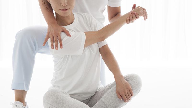 肩関節診 診察イメージ