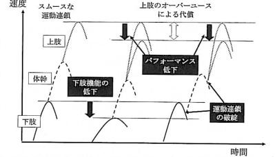 図3. 投球フォームの運動連鎖 (岩堀, MB Orthop, 2007)
